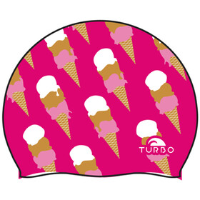 Turbo Ice Cream badmuts roze/bont